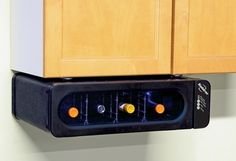 Space Saving Under Cabinet Wine Cooler in Holiday Preview 2012 from Sharper Image