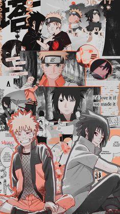 naruto e sasuke metadinha
