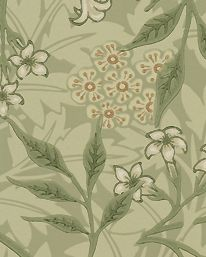 Tapet Jasmine Sage/Leaf från William Morris & Co