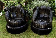 Tire Furniture - for the VERY crafty