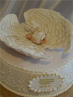 Торт на крестины . (подборка) | 80 фотографий