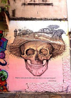"""Santurce, Puerto Rico - Alexis Diaz """"Dejarse vencer por la vida es peor que dejarse vencer por la muerte."""" - Julia de Burgos"""