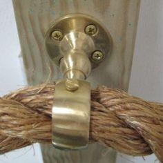 28mm Brass Rope Handrail Bracket