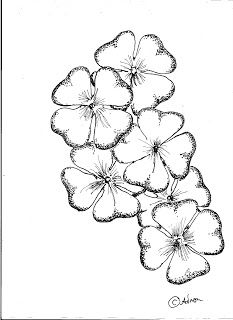 How To Draw Worksheets For Young Artist Flowers