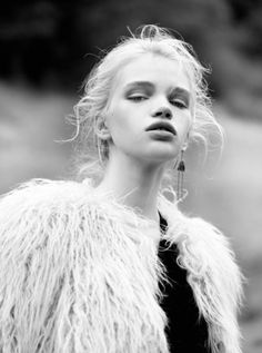 Stella Lucia shines on the cover story of Interview Germany shot by Jork Weissmann [Fashion]