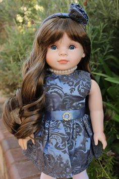 "HARMONY CLUB DOLLS 18"" Dolls. 18 inch doll clothes. Fits American Girl Doll clothes, Doll clothes for American Girl and other 18 inch dolls. Visit www.harmonyclubdolls.com"