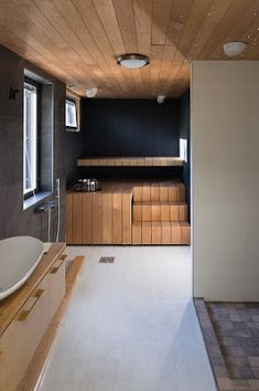 Sauna Design, Bathtub, Decorating, Bathroom, Houses, Standing Bath, Decor, Washroom, Bathtubs