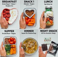 Healthy Recipes Food diary this week! I love eating multiple small meals a day when I work in my office. Reminder - Health and Nutrition Healthy Meal Prep, Healthy Snacks, Healthy Eating, Diet Recipes, Cooking Recipes, Healthy Recipes, Breakfast Snacks, Small Meals, Food Diary