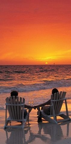 Orange ~ on the beach