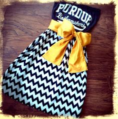 Baby Miller would look so cute in this! Purdue Boilermaker dress!