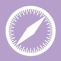 Purple Wallpaper Iphone, Aesthetic Iphone Wallpaper, Safari, Icones Do Iphone, App Store Icon, Apple Icon, Iphone App Layout, Apps, Ios App Icon