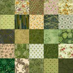 ' Twenty-Five Patch ' quilt block