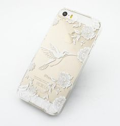 Clear Plastic Case Cover for iPhone 6 4.7 Henna Vintage by STUCHI