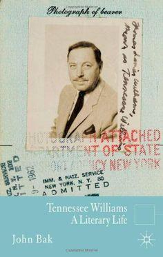 Tennessee Williams: A Literary Life (Literary Lives) by John Bak,http://www.amazon.com/dp/0230273521/ref=cm_sw_r_pi_dp_WPuxsb11NTF3XWM9