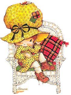 Children's Book Illustration, Character Illustration, Penny Parker, Cute Clipart, Holly Hobbie, Vintage Paper Dolls, Digi Stamps, Whimsical Art, Vintage Children