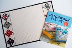 Image result for handmade patchwork placemats