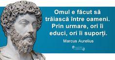 Cele 10 reguli ale lui Marcus Aurelius pentru a fi un lider excepţional Jiddu Krishnamurti, True Words, Spiritual Quotes, Motivational Quotes, Spirituality, Funny, Diversity, Motto, Beautiful