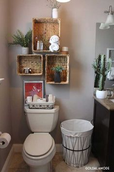 Using natural and rustic elements in the bathroom will make the most important a...