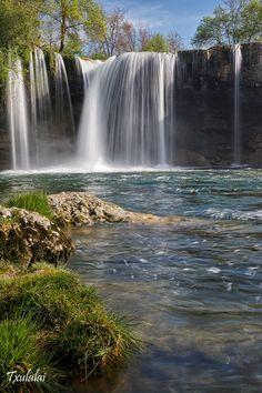 Primavera y agua by Txulalai ~ Cascada de Pedrosa de Tobalina en la provincia de Burgos, Spain**