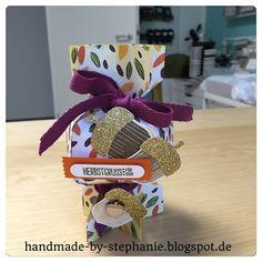 handmade-by-stephanie: Anleitung für ein herbstliches Knallbonbon