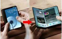 Olhar Digital: Patente detalha novo smartphone dobrável da Samsung