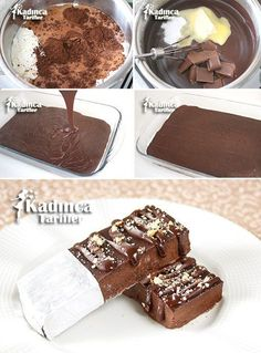 Alaska Frigo Recipe, How To - Womanly Recipes - Delicious, Practical and Delicious Food Recipes Site Easy Cake Recipes, Easy Desserts, Dessert Recipes, Yummy Ice Cream, Ice Cream Recipes, Alaska, Far Breton, Yummy Food, Tasty