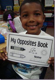 Opposites - Preschool: opposites book