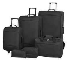 Buy Simple Value 6 piece Luggage Set at Argos.co.uk, visit Argos.co.uk to shop online for Luggage Sets, Bags, luggage and travel, Sports and leisure