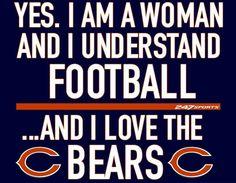 ❤️🐻⬇️ Chicago Bears Nails, Chicago Bears Super Bowl, Chicago Blackhawks, Chicago Bulls, Bears Football, Football Art, Cubs Team, Walter Payton, Bear Art