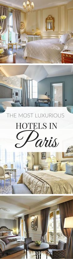 Paris | Experience Paris in style through this guide on the best luxury hotels in the area. Whether it's for a romantic getaway or your honeymoon, Paris is always a good idea.