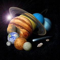 Solar System Family Portrait - 2007