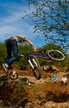 Matt Cooper aka The Grom hitting Divs Trails on  the mountain bike #dirtjump #mtb #bike #dirtjumping