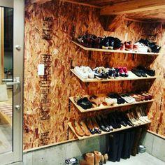 seyakate103さんの、ガレージ,男前インテリア,インダストリアル,DIY,OSB合板,靴収納,靴箱,ハンドメイド,のお部屋写真