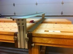 Split Top Roubo MFT with Benchcrafted, Incra and 80/20