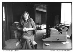 Male writers might get more than their fair share of attention, but if being a woman is good enough for Joan Didion then it's good enough for me.