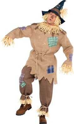 Adult Mr. Scarecrow Costume - Party City