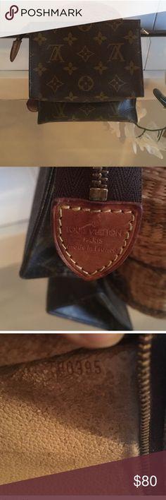 Authentic Monogram LV 6x4.5x2. Great Condition Louis Vuitton Bags Clutches & Wristlets
