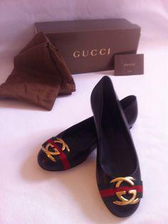 Gucci Flats Size 8   eBay