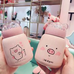 Want or need? Kawaii pig bottle in our shop Get yoursLink in bio
