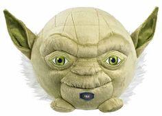 Star Wars Yoda 7In Talking Plush Ball