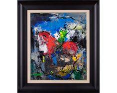 Călărețul anonim II - pictură în ulei pe pânză, artist Iurie Cojocaru Painting, Painting Art, Paintings, Painted Canvas, Drawings