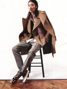 Super casual and trendy from the waist down, classic and tailored from the waist up. Result is *Modern*.