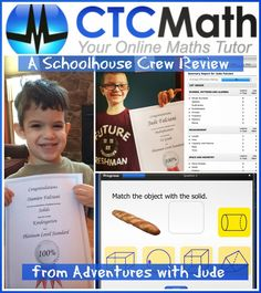 CTC Math (A Schoolhouse Crew Review) #math #notcommoncore #PK #elementary #middleschool #highschool
