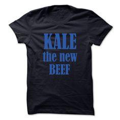 Kale the new beef! - Blue text - #black tee #oversized sweatshirt. PURCHASE NOW => https://www.sunfrog.com/No-Category/Kale-the-new-beef--Blue-text.html?68278