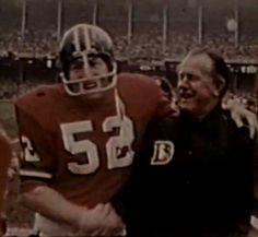 1971 Jerry Smith Denver Broncos Head Coach