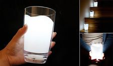 Bicchiere di latte LED