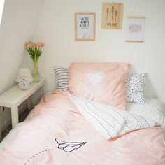 Unsere neue Bettwäsche zum wenden! :) Jetzt im Shop. <3 Bettwäsche Beddings