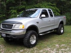 2000 ford Life in the F150 Lifted, Lifted Ford Trucks, Chevy Trucks, Pickup Trucks, Truck Flatbeds, F150 Truck, Fords 150, Old Fords, Ford Ranger