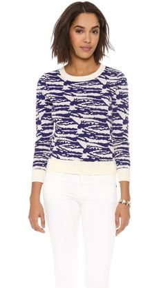 Intarsia Crew Neck Sweater, A.P.C. only at http://tllg.net/TUa5!  Price: $150.00  Artful patterns bring a playful dimension to this A.P.C. sweater, rendered in soft wool. Tonal ribbing details the edges, adding sweet contrast. Long sleeves.  Fabric: Soft wool double-knit. 100% wool. Hand wash. Imported, China.  MEASUREMENTS Length: 22in / 56cm, from shoulder   www.fsession.com