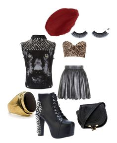Concert Outfit. Rock n' Roll and studs.